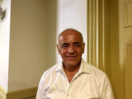 Carlos Valencia, Democratic candidate for alderman in Dover