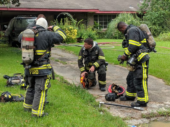 Montgomery Fire/Rescue responded to a house fire at the 3700 block of Stanley Drive on Aug. 24, 2018.