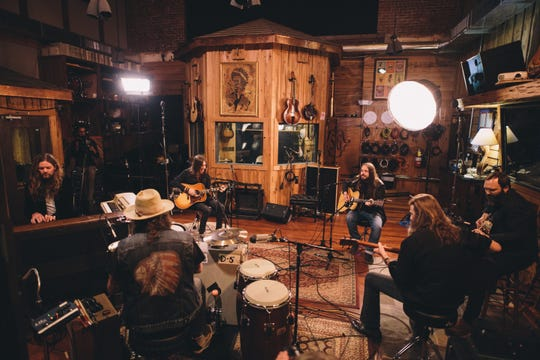 Blackberry Smoke performs acoustically live at Zac Brown's Southern Ground Studio in Nashville.