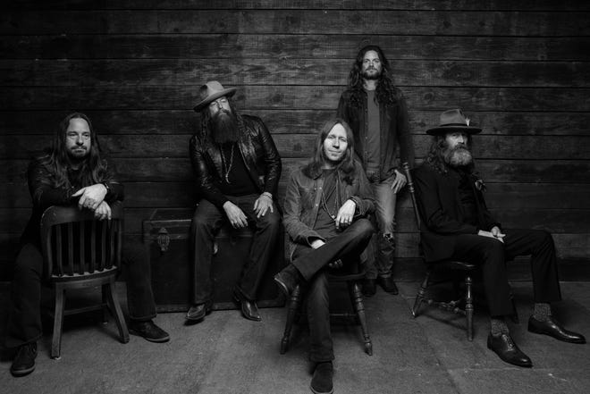 Blackberry Smoke will perform at the Montgomery Performing Arts Centre on Thursday, Aug. 30.