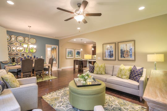 Goodall is launching a new phase of villas in Hendersonville's Millstone neighborhood. The company's villas feature open floor plans. Dalamar Homes and David Weekley Homes also offer villas in Sumner County.