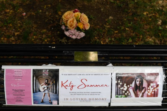 Chilean teen Katy Summer an aspiring country musician took her own life in May as a result of cyber bullying. Her parents traveled from Chile to spread her ashes in Owen Bradley Park.  Photographed Friday, Aug. 24, 2018, in Nashville, Tenn.