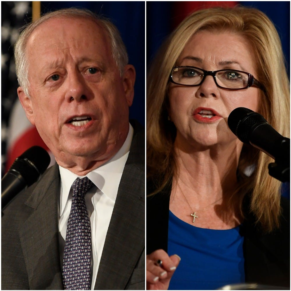 Blackburn holds slim lead over Bredesen in Tennessee US Senate race, new Reuters poll says