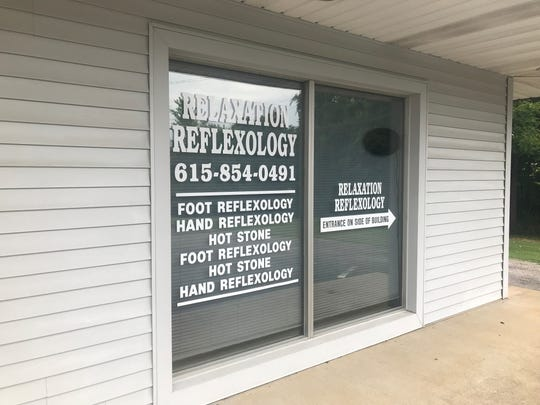 Relaxation Reflexology, located at 6522 Highway 41-A in Pleasant View, aims to combine health and relaxation by stimulating nerve endings in the hands and feet.