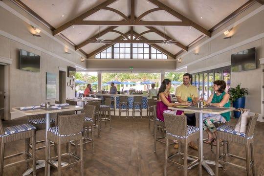 A view of Bonita Bay's Breezeway Club
