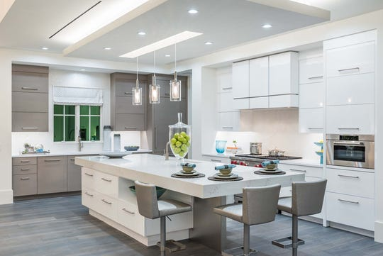 London Bay Homes' Watlington model received a Grand Aurora for Best Kitchen Merchandising of a Home priced over $800,000.