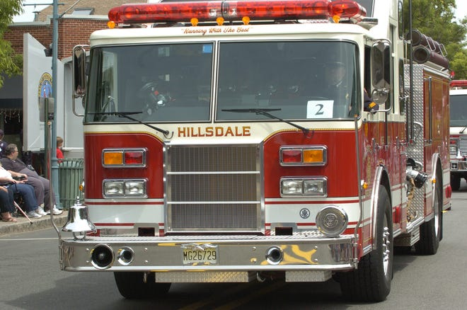 Hillsdale was one of the fire departments to receive a grant.