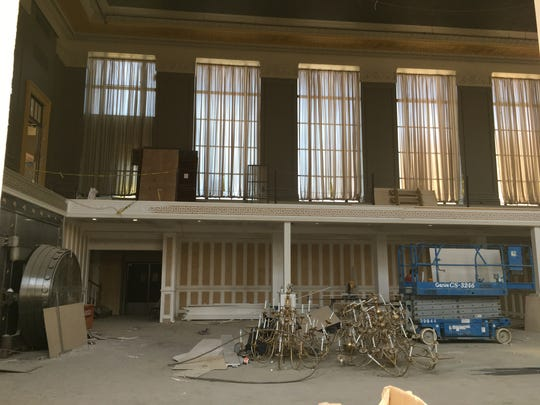 Interior work is under way for a Felina's, a new restaurant coming to the Bank of America building in Ridgewood.