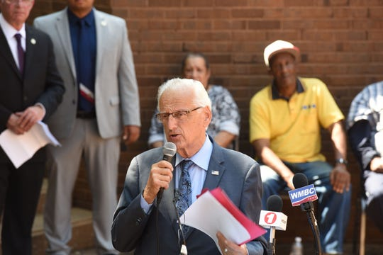 Congressman Bill Pascrell talks about updated Medicare card which will now have a random identification number in place of the individual's Social Security number.