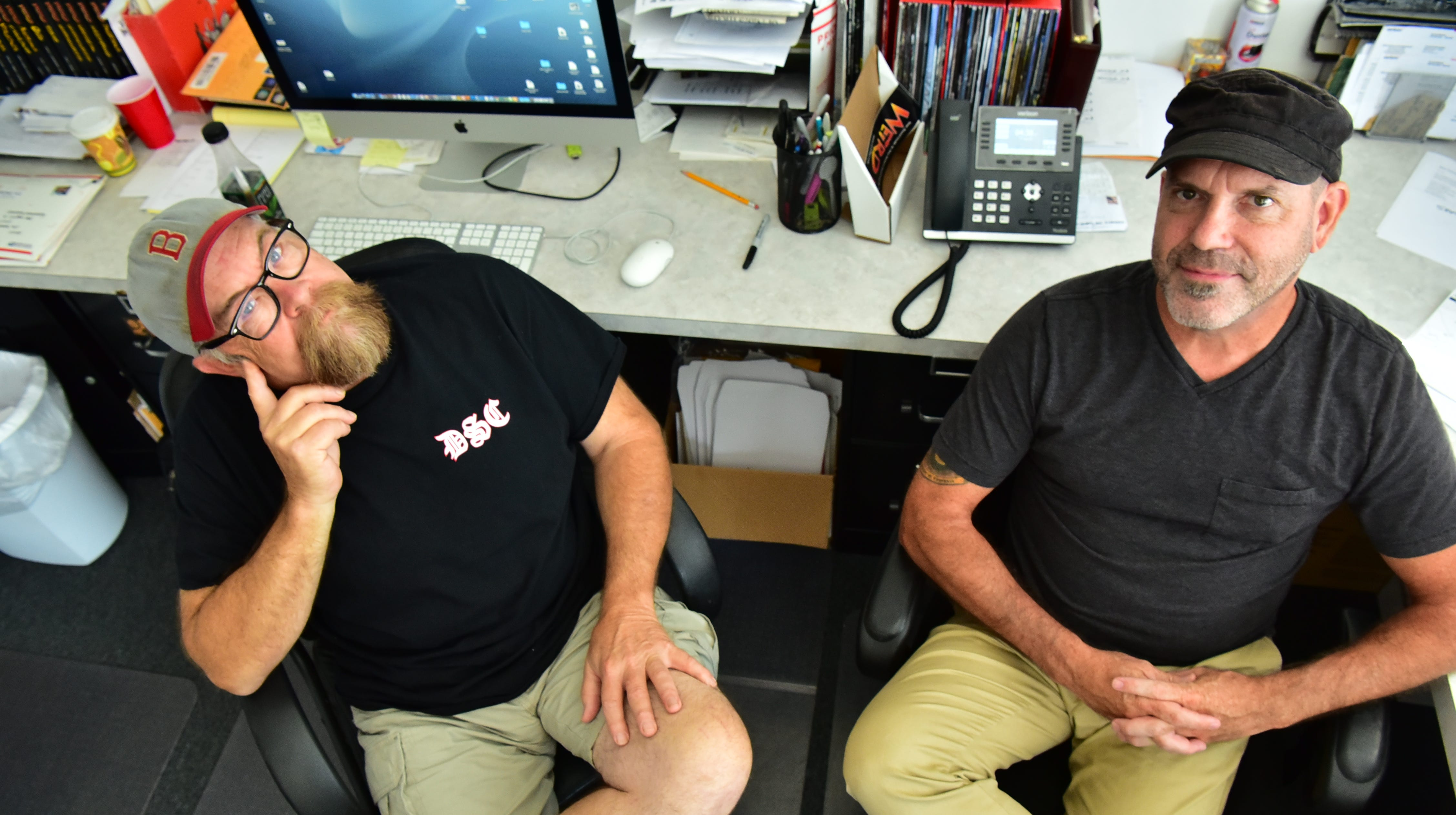 When the going got weird, these guys kept going. Five questions with Weird New Jersey co-founders Mark Sceurman and Mark Moran as the mag turns 25.