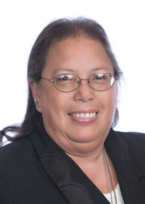 Mary Sanchez, department president of New Mexico for the Veterans of Foreign Wars Auxiliary.
