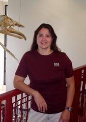 Assistant professor of biology Maria Castillo.