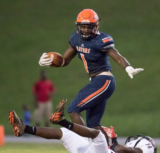 Escambia running back Frank Peasant is one of six local recruits to keep an eye on this spring.