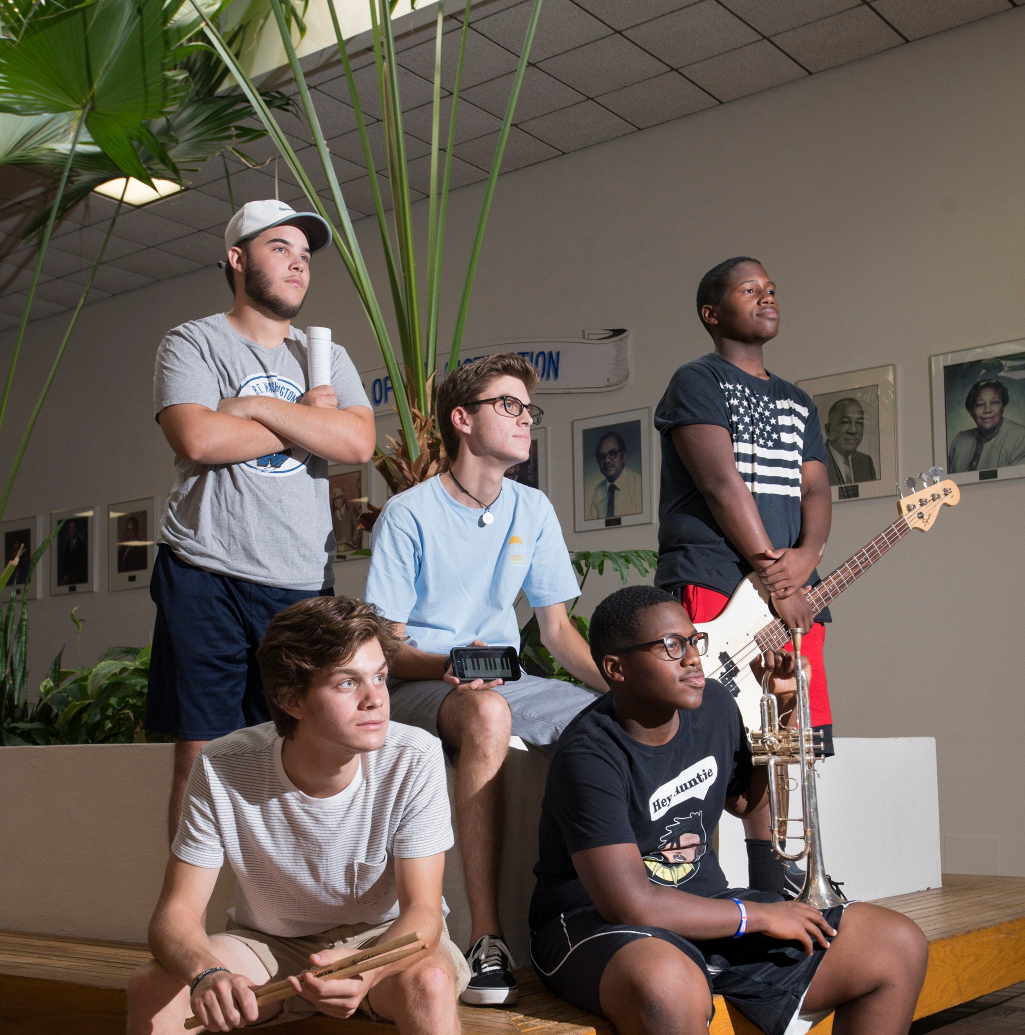 Soul Station found their groove early, now wowing crowds with pro-level jazz chops