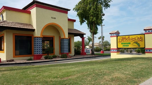 Filiberto's at Brown and Higley roads in Mesa