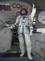 Barbara Barrett trained to go to space in 2009.