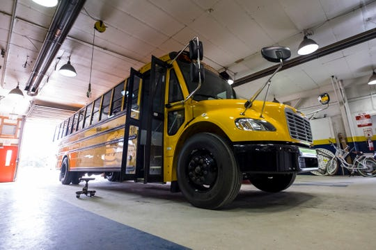 The Michigan State Police inspect school buses every year, not all pass.