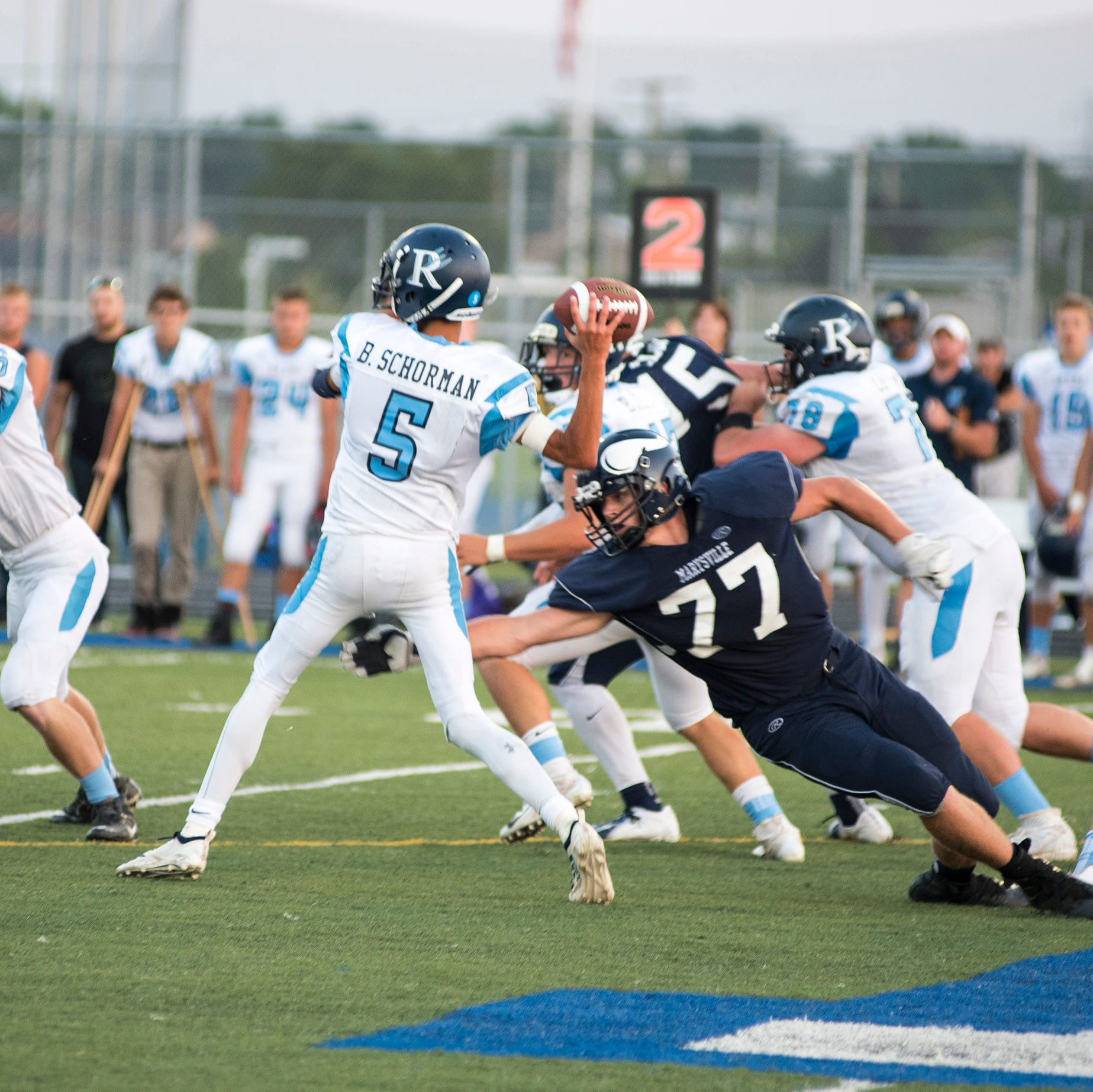 Blue Water Area high school football scores for Week 2