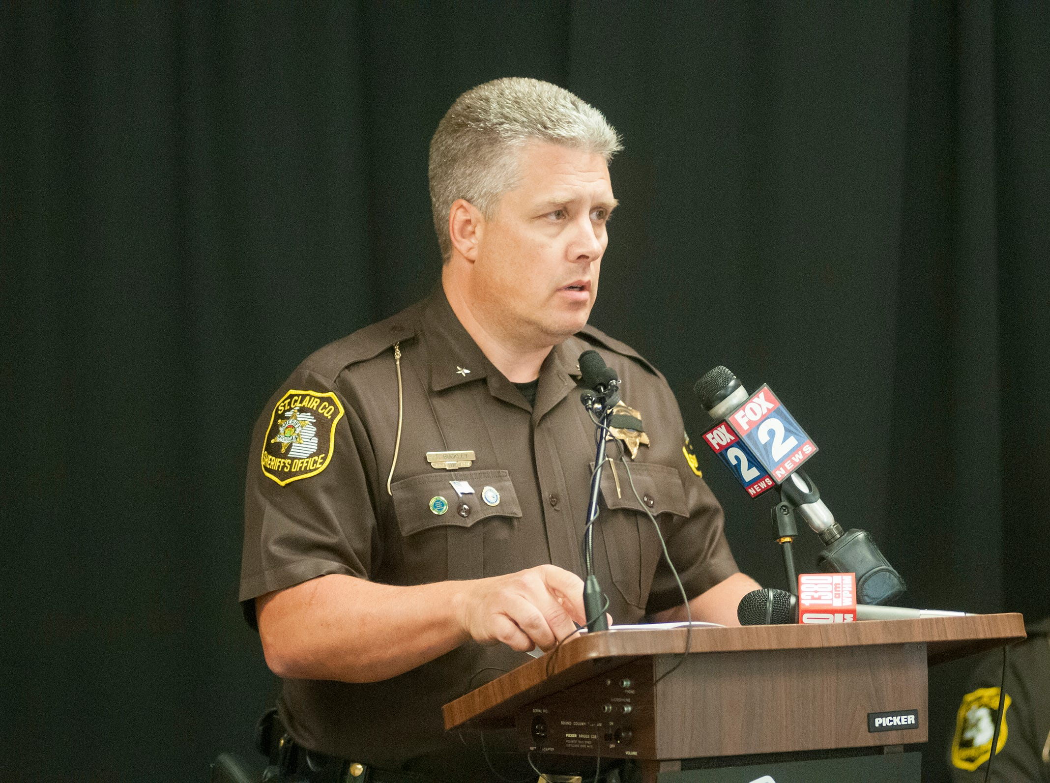 Undersheriff Tom Buckley retiring at the end of the month