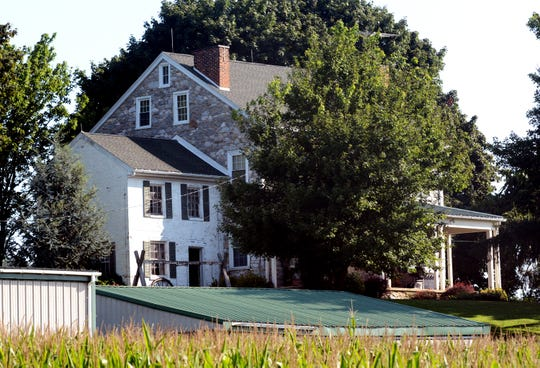 Friday, August 24, 2018--The historic Mifflin House is a possible site for a Penn National betting facility. Bill Kalina photo