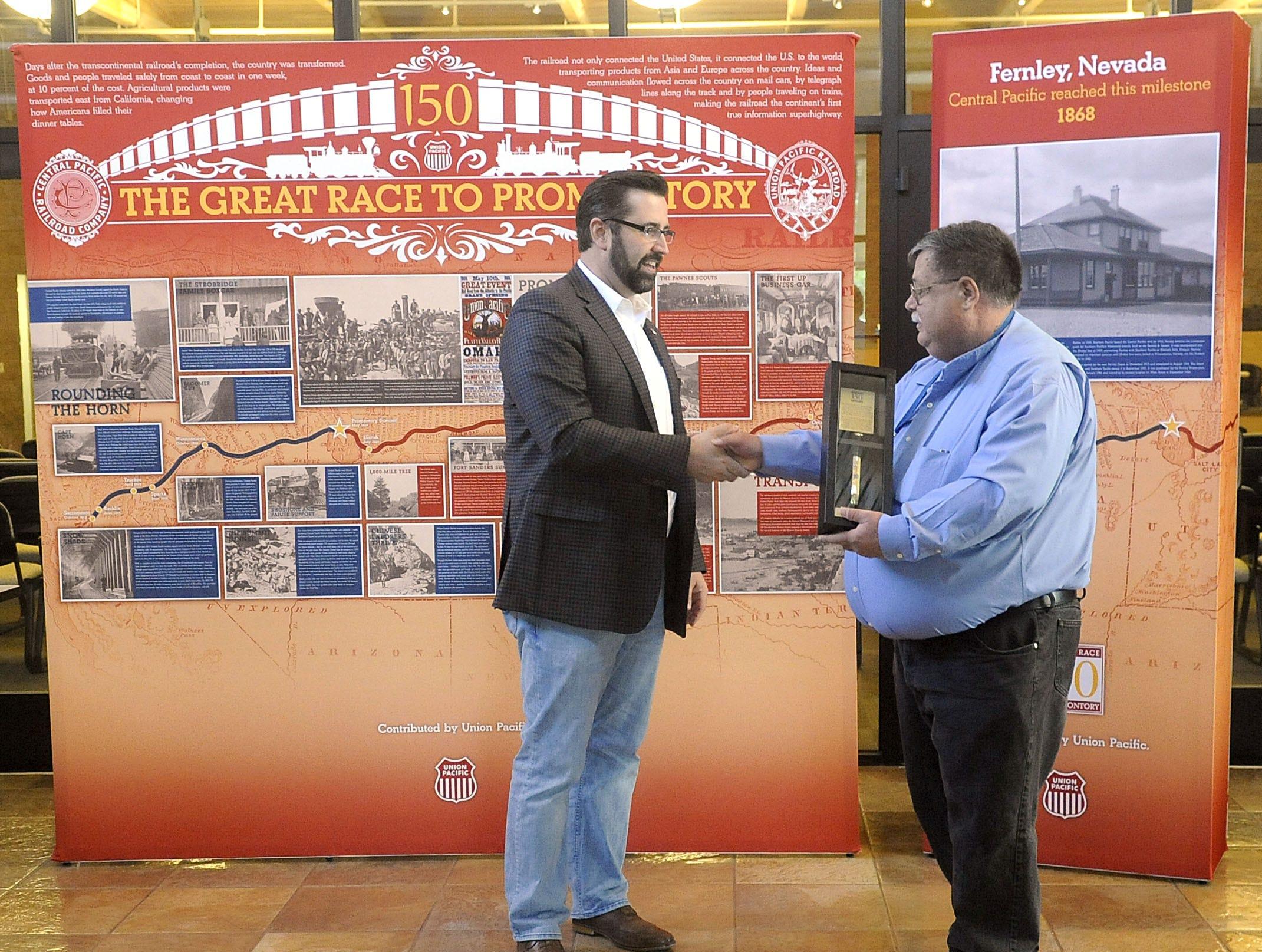 Fernley's railways celebrated
