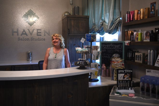 Haven Salon Studios is shown on July 12, 2017.