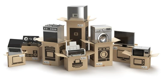 Many people don't realize that unlike ordering online, when you purchase from a brick-and-mortar, delivery, installation and disposal are usually part of the services offered.