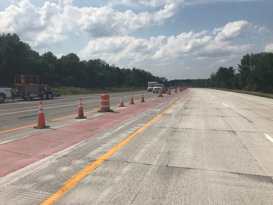New lanes connect Route 531 to Route 31 westbound