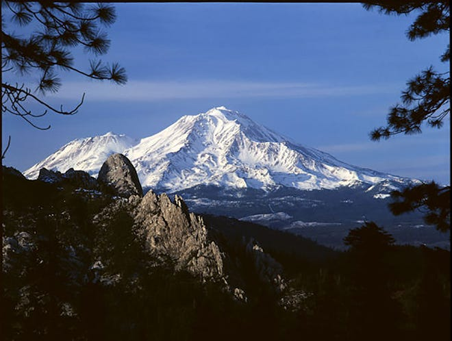 Photo of Mt. Shasta's Castle Dome by photographer Robert McKenzie.