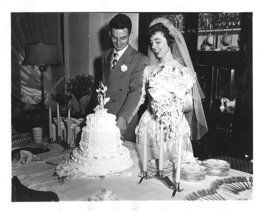 Robert and Marcia McKenzie were married on Aug. 15, 1948 in Siskiyou County.