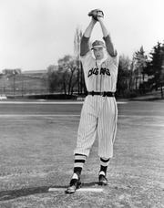 Ron Aiken was a pitcher on the Washington State baseball team that reached the College World Series in 1956.