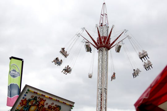 The opening day of the Oregon State Fair in Salem on Friday, Aug. 24, 2018. The fair runs through September 3.