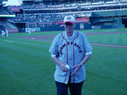 Ron Aiken at Oakland Alameda Coliseum on Aug. 8, 2018.
