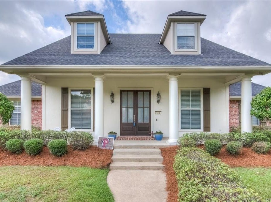 516 Lovers Landing,  Bossier City  Price: $399,900  Details: 6 bedrooms, 4 bathrooms, 3,687 square feet  Special features: Established landscaping,  remote master downstairs, large media room upstairs,  swimming pool.  Contact: Stan Cole,   746-6533