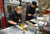 World class chefs serve up high quality food at the US Open.