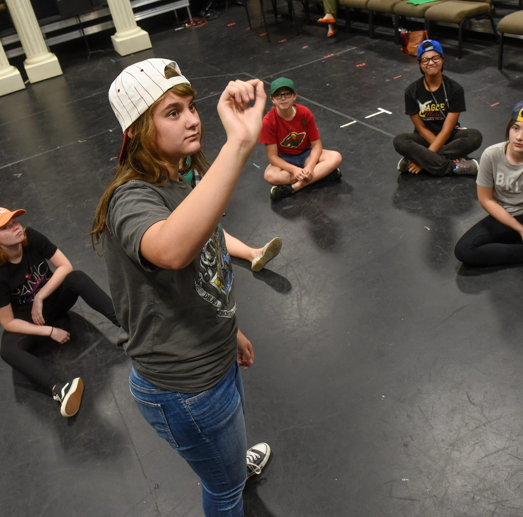 A day in the life of girls: 8 teenagers create, perform own show this weekend