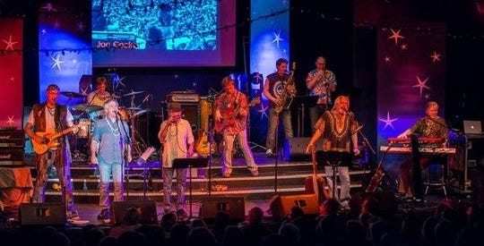The Fabulous Armadillos closed out the Summertime by George concert series on Aug. 29, drawing the series' biggest crowd of the summer.
