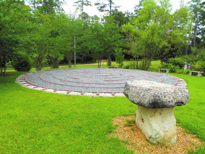 The labyrinth at Holy Comforter Episcopal Church in Tallahassee.