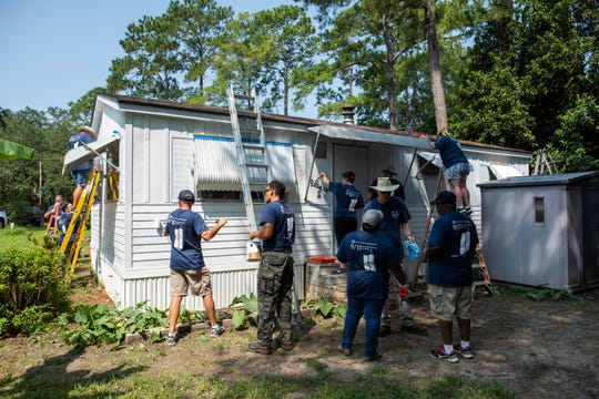 Leon County Government held the eighth annual Leon County 9/11 Day of Service, an annual neighborhood-wide service day in the Deer Tree Hills Neighborhood on Thursday.