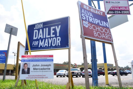 The race is heating up as the Florida primary election approaches.