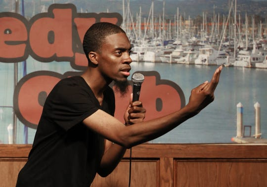Eric Terrell was one of the top seven comedians who moved on to the semifinal round of the eighth annual Ventura Comedy Competition. He competed against 20 other comedians during the last of the four preliminary rounds held on Wednesday at the Ventura Harbor Comedy Club.