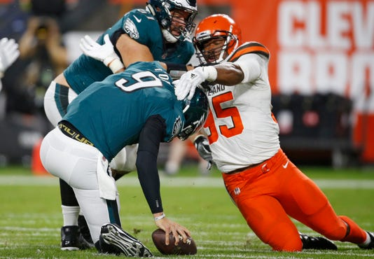 Image result for nick foles browns preseason