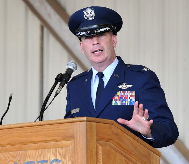 Sheppard Air Force Base commander Col. Kenyon Bell and 80th Flying Training Wing Commander Russell Driggers announced Wednesday the first case of COVID-19 at the base. The patient is an airman in the 80th FTW who traveled to Las Vegas prior to the AF travel ban.