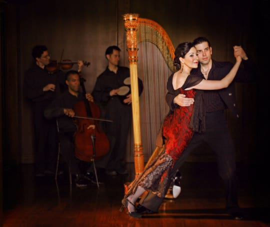 Tango from Heaven featuring Ana Maria Mendieta will perform 3 p.m. March 3 at Secrest Auditorium.