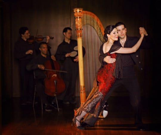 Tango from Heaven featuring Ana Maria Mendieta will perform 3 p.m. March 3 at Secrest Auditorium.