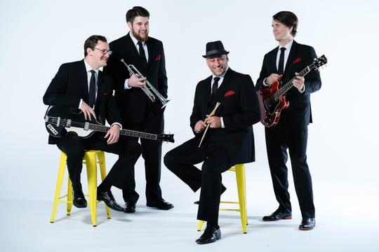 The Four Freshmen will perform a Christmas show at 7:30 p.m. Dec. 15 at Secrest Auditorium.