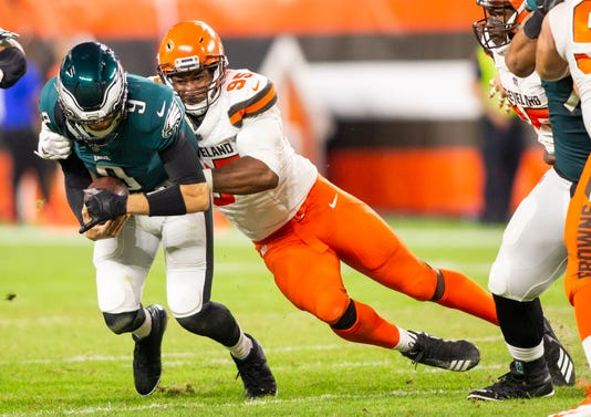 34d8e032a6c Nfl Philadelphia Eagles At Cleveland Browns