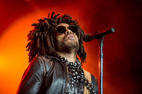 "Lenny Kravitz's latest album, ""Raise Vibration,"" is out on Friday."