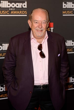 TV personality Robin Leach, photographed in 2015, has died according to a report from the Las Vegas Review-Journal.