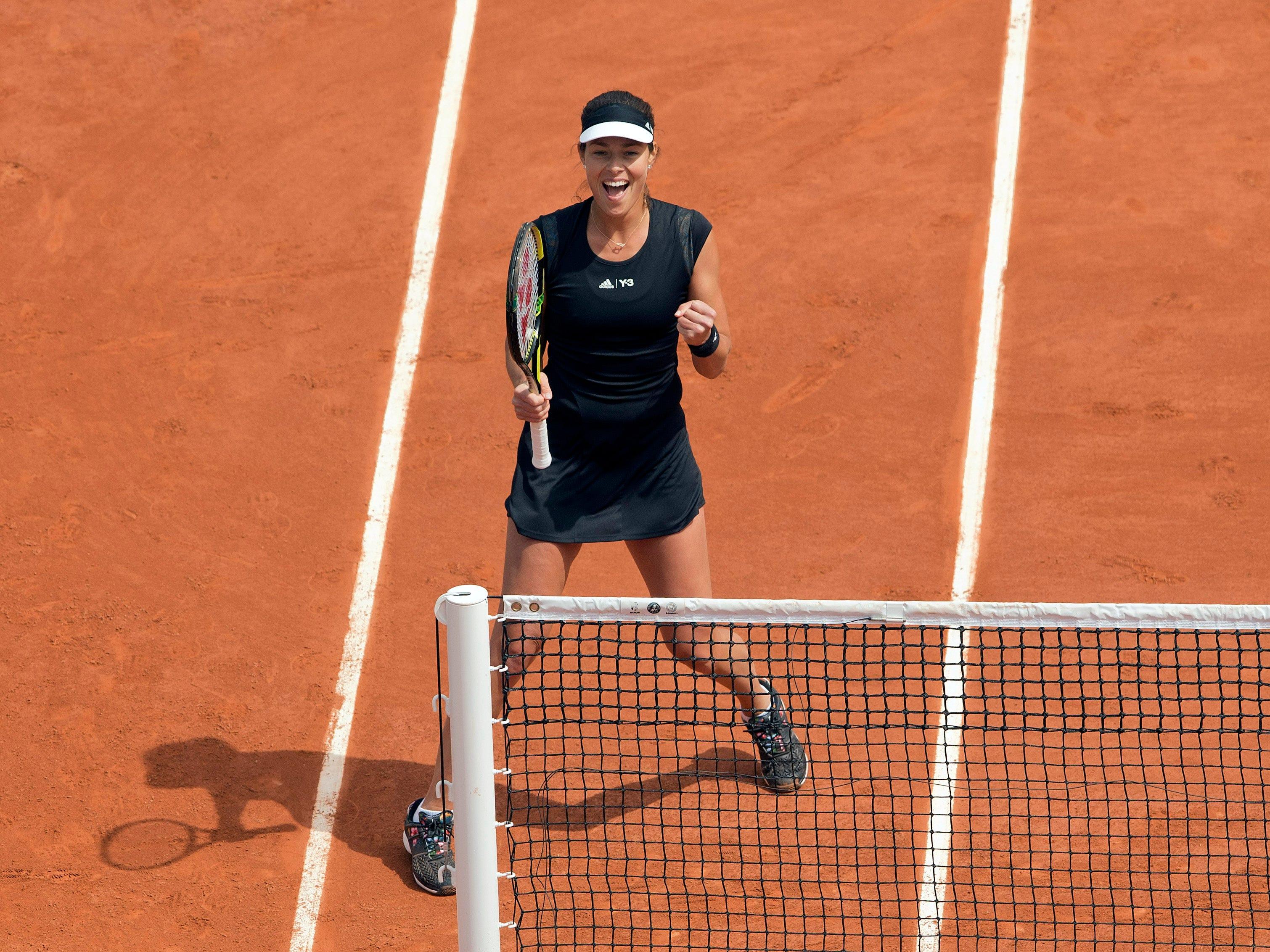Ana Ivanovic (1-9).